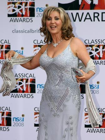Lesley Garrett at the Classical Brits 2008
