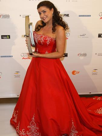 Cecilia Bartoli at the ECHO Klassik Awards 2008