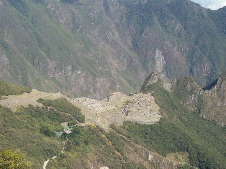 First sightings of Machu Picchu