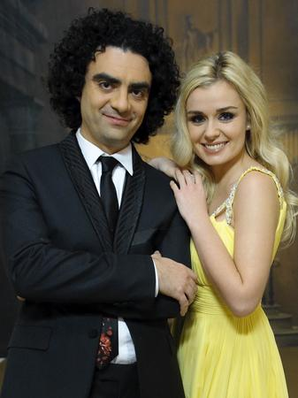Katherine Jenkins with fellow judge at Pop Star to Opera Star