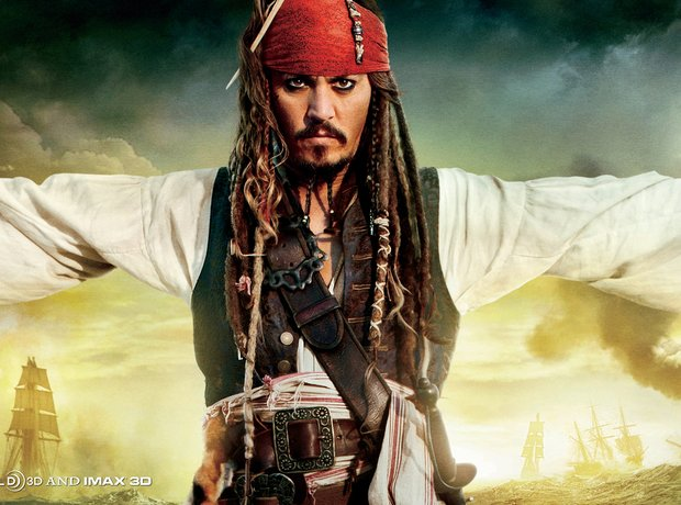 Johnny Depp Pirates of Caribbean: On Stranger Tides