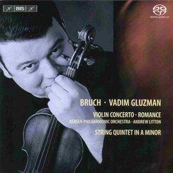 Bruch Vadim Gluzman Bergen Philharmonic Orchestra