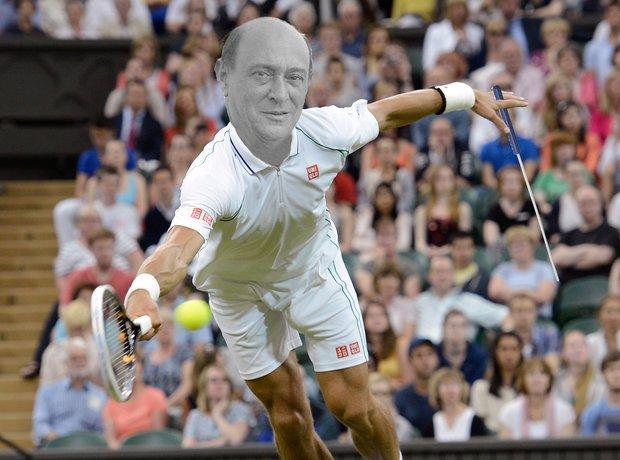 Arnold Schoenberg tennis