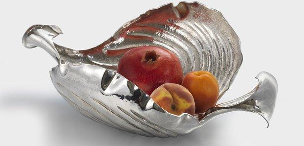 Silver bowl by Caroline Stephenson