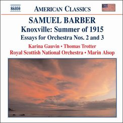 Barber Knoxville and essays for orchestra trotter