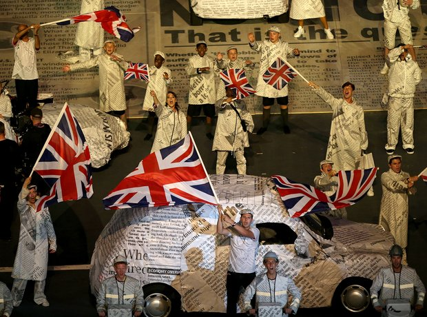 2012 Olympic Closing Ceremony David Arnold Spice Girls