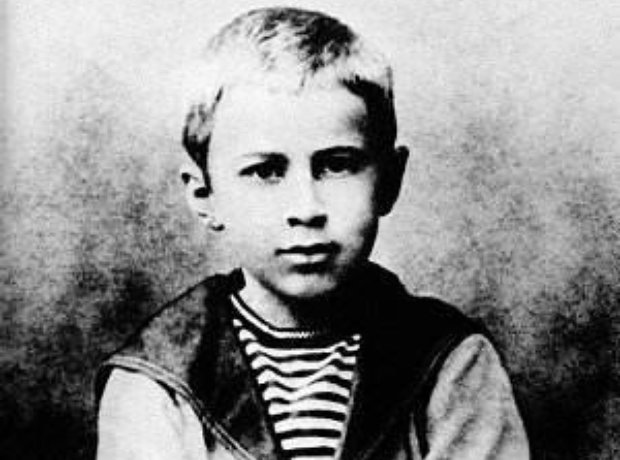 young prokofiev child