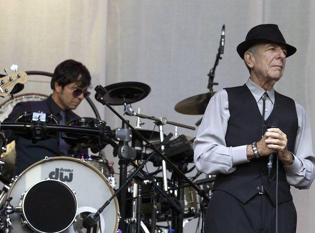 Hallelujah's composer Leonard Cohen