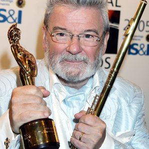James Galway with flute