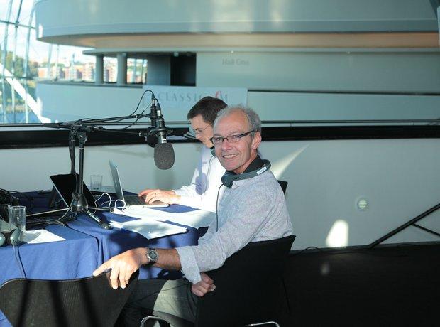 John Brunning at The Sage Gateshead
