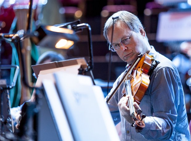 strings at Classic FM Live 2012