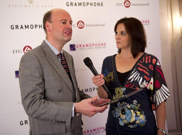 Gramophone Awards 2012 Stephen Layton