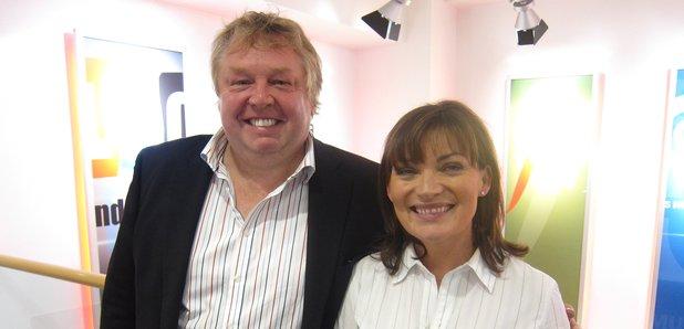 Lorraine Kelly and Nick Ferrari