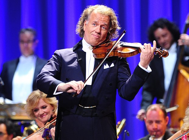 Andre Rieu performs at the Classic BRIT Awards 201