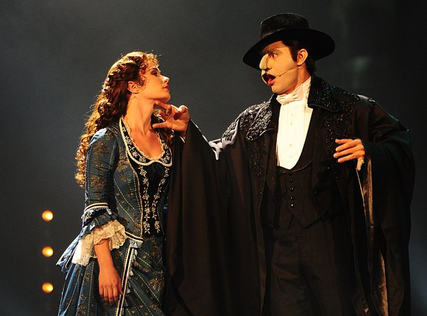 Sierra Boggess and Ramin Karimloo at the Classic B