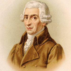 joseph haydn lithograph picture