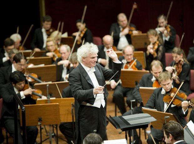 Sir Simon Rattle berlin philharmonic