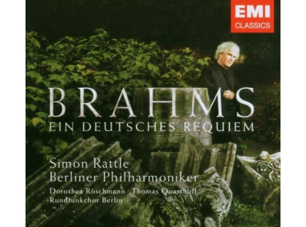 rattle brahms german requiem