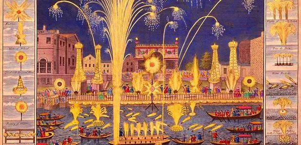 music for the royal fireworks handle