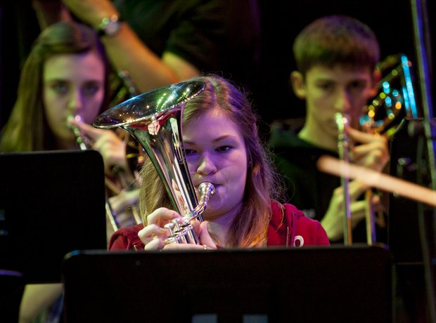 carnoustie brass band rehearsal 7