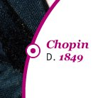 Chopin Died 1849