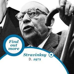 Stravinksy Died 1971