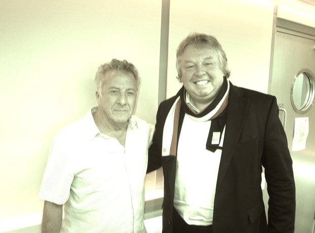 Dustin Hoffman & Nick Ferrari