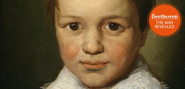 Beethoven aged 13 with stamp
