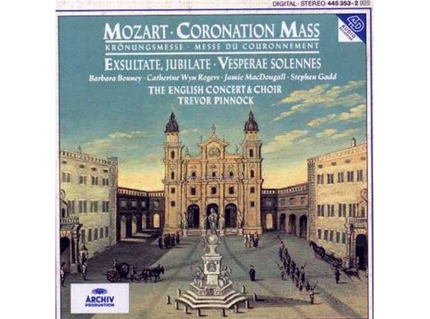 172 Mozart, Solemn Vespers, by The English Concert