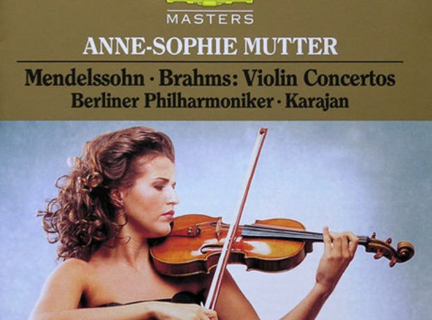 177 Brahms, Violin Concerto, by Anne-Sophie Mutter