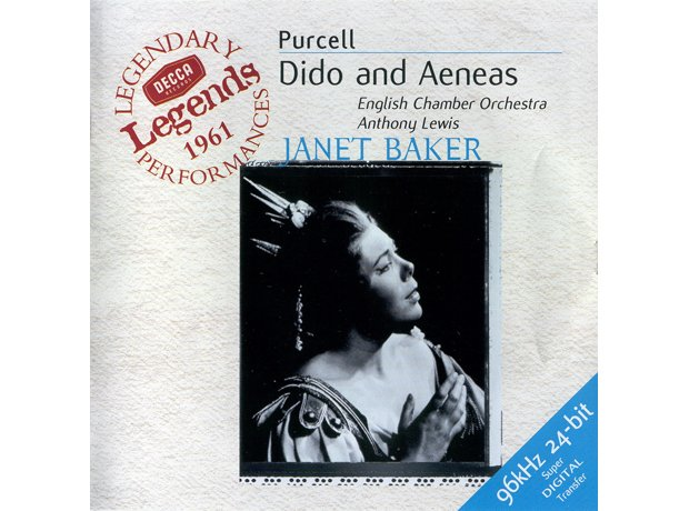 218 Purcell, Dido and Aeneas by Janet Baker, Engli