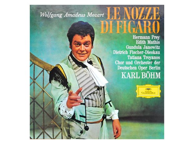 Mozart The Marriage of Figaro album cover