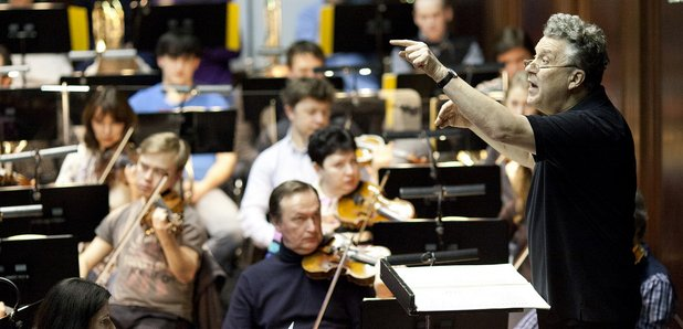 Russian conductor Vasily Siniasky