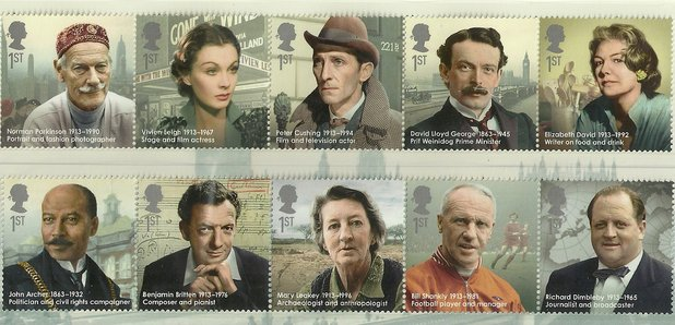 great britons stamp sets