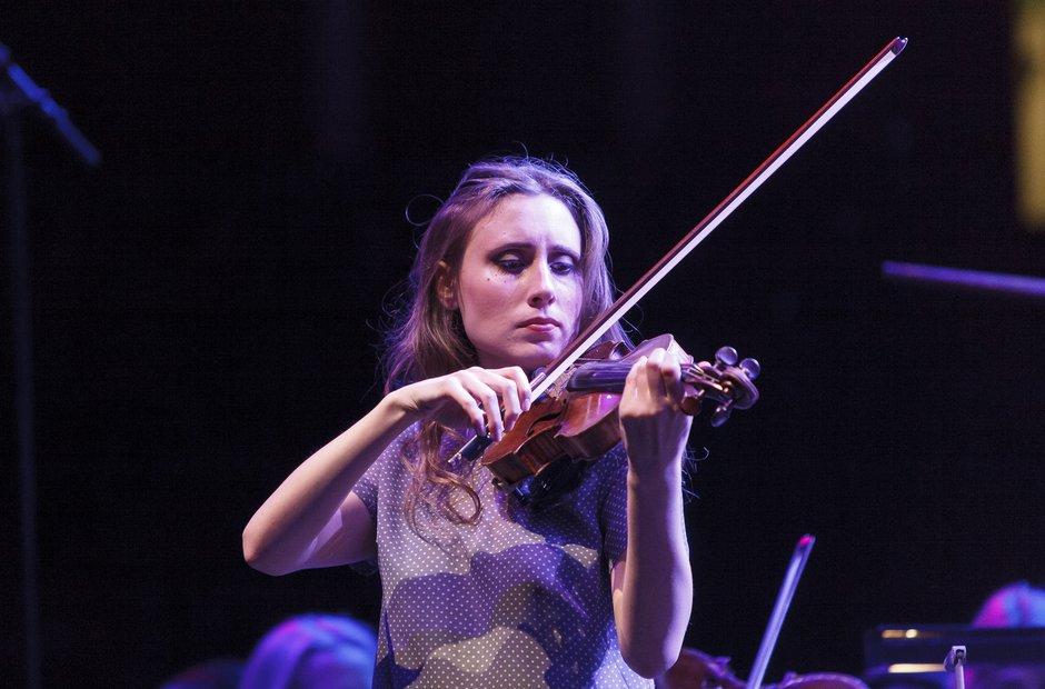 Jennifer Pike Classic FM Live 2013 rehearsals