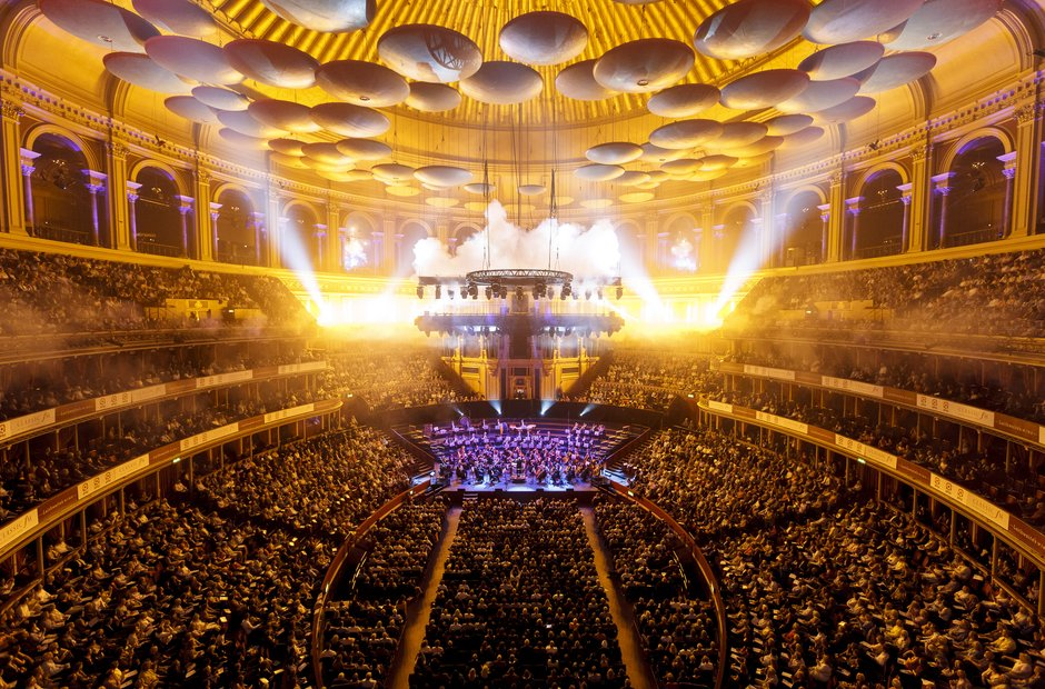 Fireworks Philharmonia Orchestra Classic FM 2013 the performance