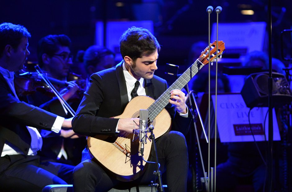 Miloš Karadaglić Classic FM Live 2013 the performance