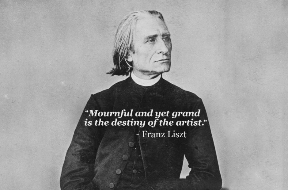 franz liszt mournful yet grand
