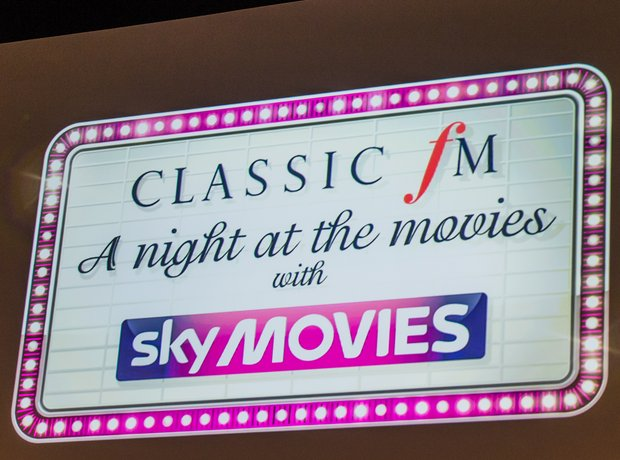 Classic FM: A Night At The Movies rehearsals