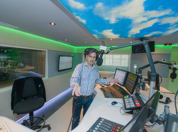 Jamie Crick requests studio