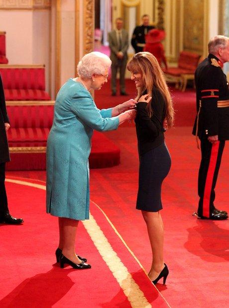 Nicola Benedetti receives MBE Buckingham Palace
