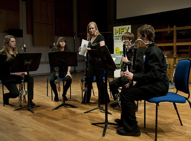 Berkshire Maestros Newbury MC Clarinet Choir
