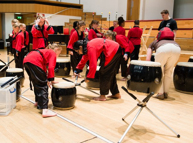 Kenage Taiko' from Moldgreen School