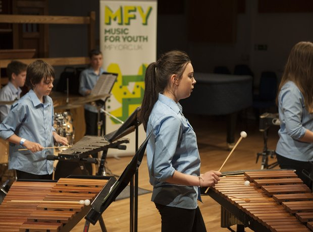 Sir Thomas Picton School Percussion Ensemble