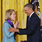 Renée Fleming and President Obama