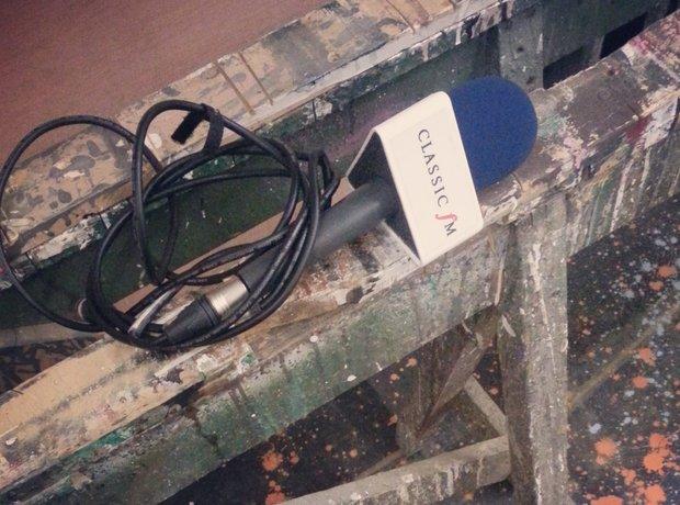 classic fm microphone