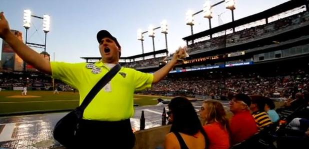 opera singing hot dog vendor