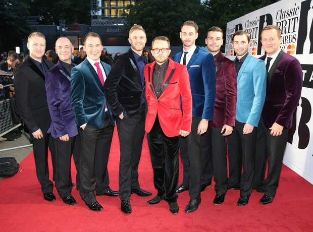 Only Men Aloud Classic Brit Awards 2013