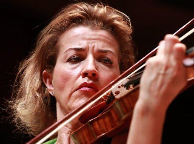 Anne-Sophie Mutter violinist