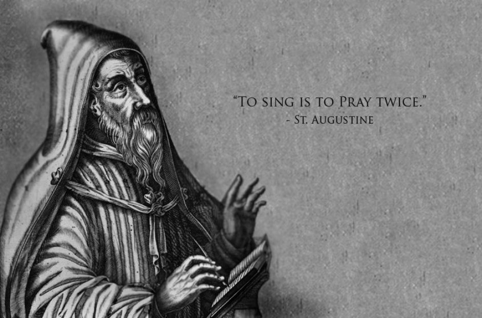 st augustine classical music quotes